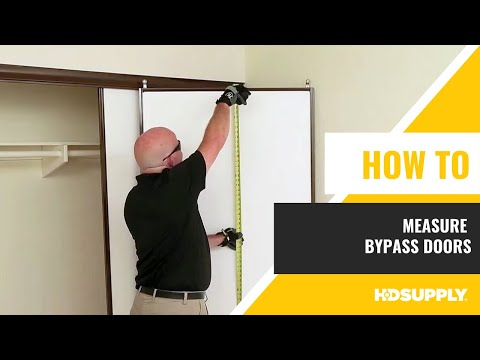 How To Measure Bypass Doors - HD Supply FM