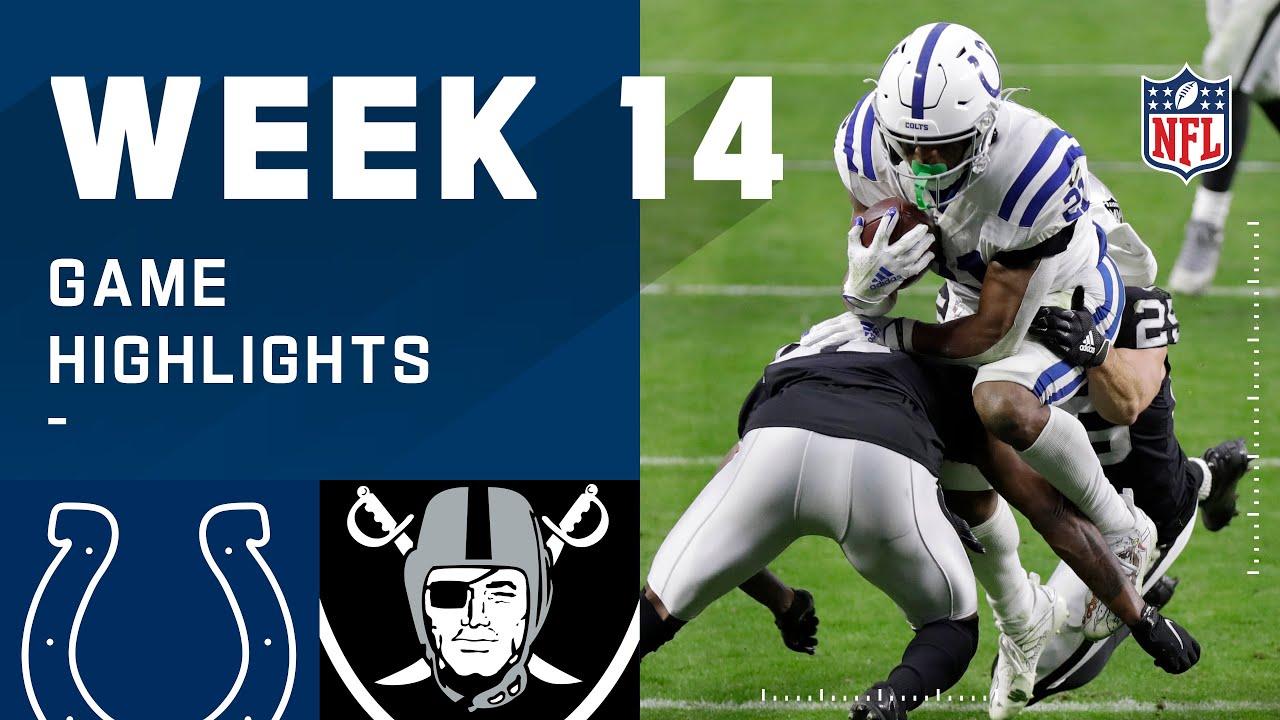 Colts vs. Raiders Week 14 Highlights | NFL 2020