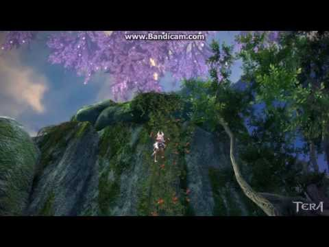 How to Climb Down Ladders in TERA