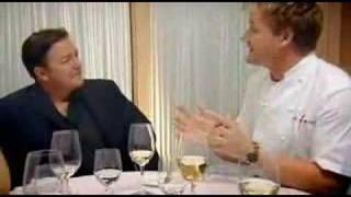 Rick Gervais - Gordon Ramsey