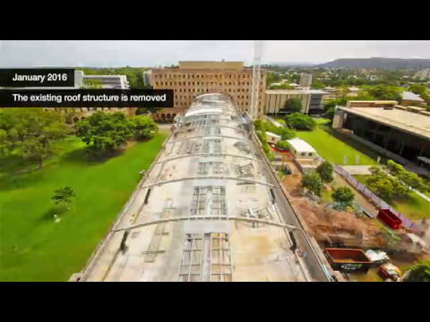 UQ's Forgan Smith Building: refurbishing QLD's oldest and newest Law School