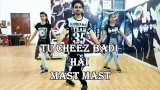 Tu Cheez Badi Hai Mast Mast   Machine   Dance choreograph by Vivek Sir