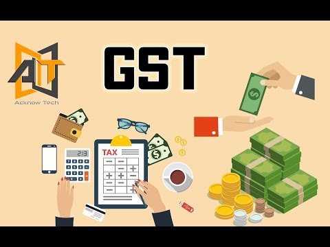 GST India | How GST Works? | Example | GST Dual Model | 2017