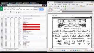 COMPLETED | Help us Input Quran word by word Translation in Bangla