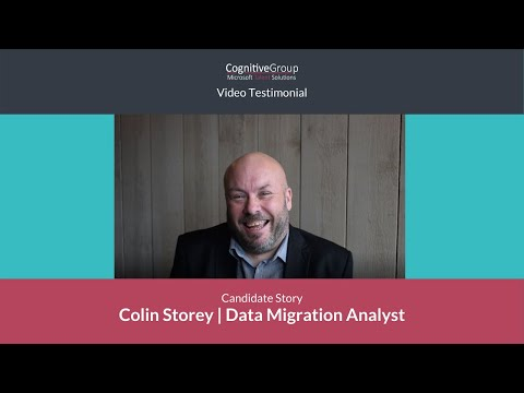 Microsoft Talent Solutions   Colin Storey's Story