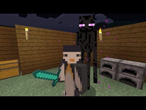 Minecraft Xbox - Series To Slay The Ender Dragon - Enderman Hunting [Part 17]