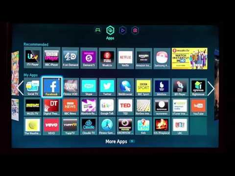 How to change your smart tv's country store