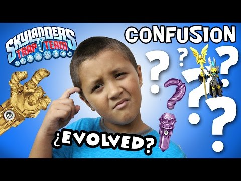 Skylanders Trap Team: EVOLVED + TRAPPING CONFUSION!  How It Works! [VILLAIN QUESTS]