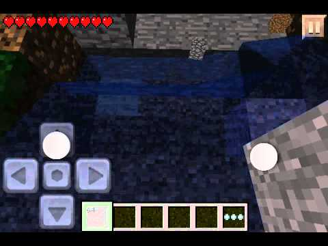 How to get invisible bedrock in minecraft pocket edition