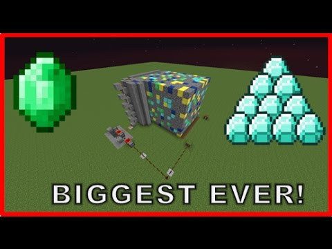 Minecraft: How to build the BIGGEST ore generator ever!
