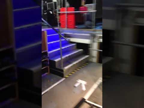 Sam Ostler - Backstage at the O2 Arena in London