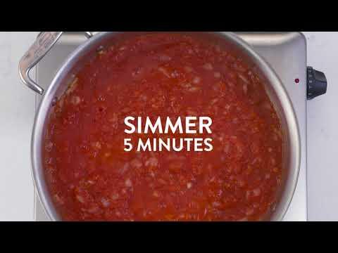 Danny Pudi's Cheesy Rotini with Tomato Passata | While the Water Boils