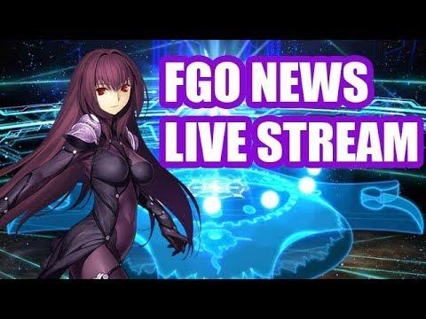 FGO NEWS LIVE STREAM!! Fate/Grand Order NA THANKSGIVING SPECIAL EVENT!!! CRAZY NEWS!!!