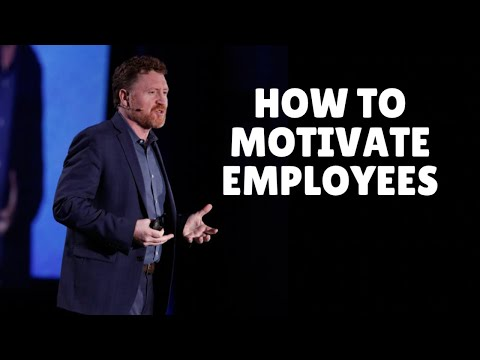 How to motivate staff and engage employees.