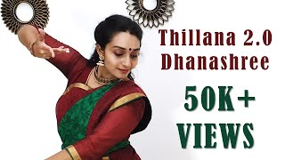 Thillana 2.0 - Dhanashree | Dance Cover by Swetha Sunil