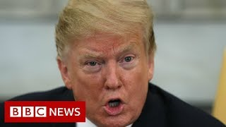 Mueller Report: President Trump cleared of collusion- BBC News