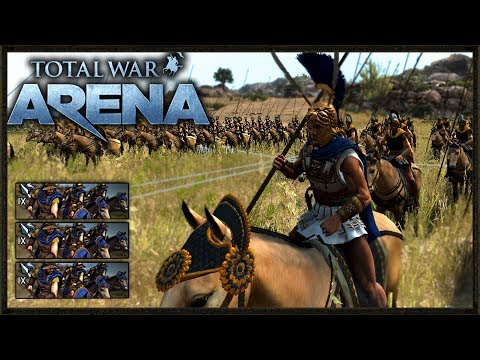 How To kill Infantry With Cavalry! - Total War: Arena Gameplay