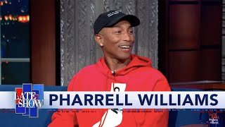 Pharrell Williams: I Love Space, But I'm Not Trying To Go