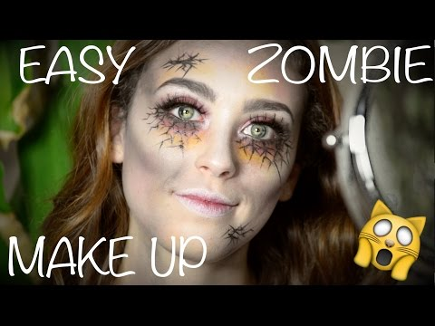Easy Last Minute Zombie Makeup | Free Costume