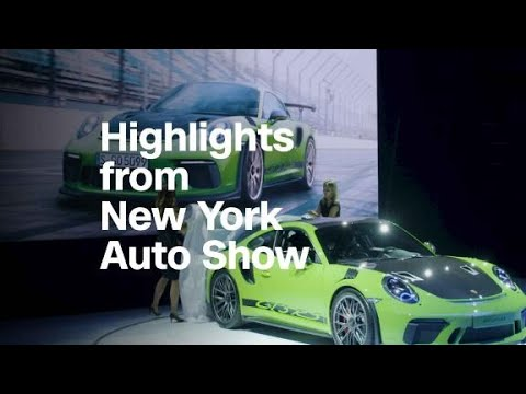 See highlights from the New York Auto Show