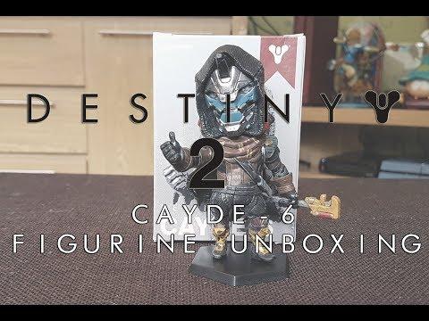 Destiny Cayde-6 Figurine Unboxing