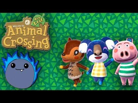 Metting the Neighbors! -  Animal Crossing: New Leaf