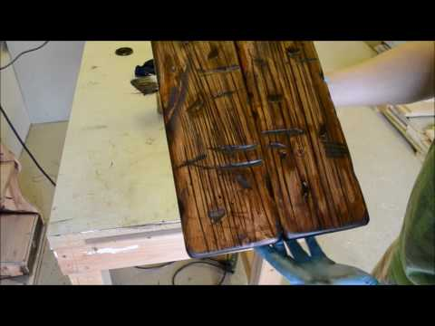 How to Make New Wood to Look Old - Barn Door - Part  2