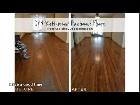 refinishing hardwood floors without sanding