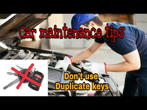 CAR MAINTENANCE TIPS|HOW TO MAINTAIN YOUR CAR AT HOME
