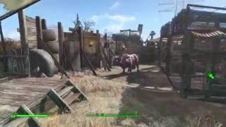 Fallout 4 Abernathy farm settlement build ps4