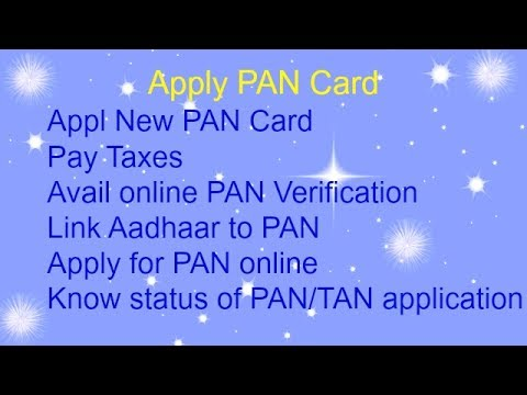 Apply New Pan Card