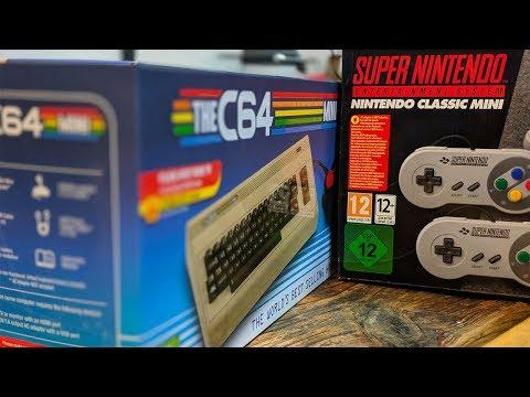Bilge Tank 112: C64 Mini, SNES Mini and Retro-fit talk