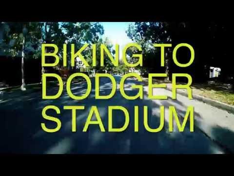 Biking to Dodger Stadium - GoPro