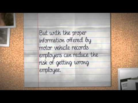 About Motor Vehicle Records