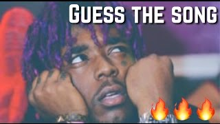 GUESS THE RAP SONG PART 1! (IMPOSSIBLE)