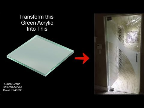 How To Make A Frameless Shower Door From A Sheet Of Acrylic