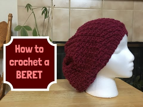 How to crochet Berry Beret