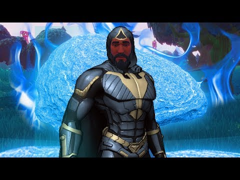 JOHN WICK THE SUPERHERO in Fortnite Battle Royale ( BATTLE PASS SEASON 3 ENDING / SEASON 4 START)