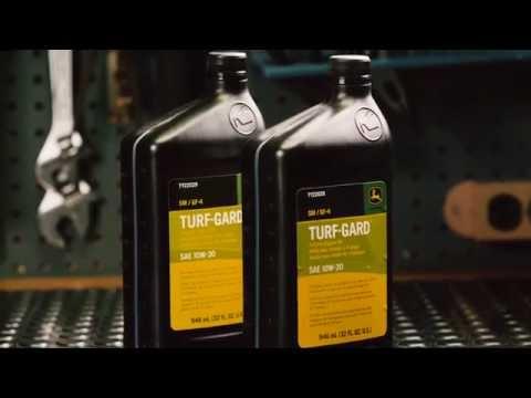 How To Change Oil & Oil Filter | John Deere ZTrak Zero Turn Mower Maintenance
