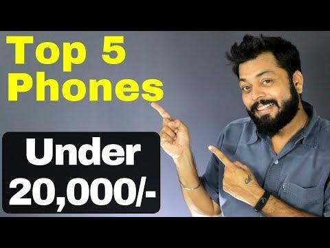 TOP 5 BEST SMARTPHONES UNDER 20,000! [2017]