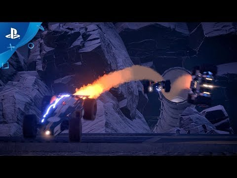 GRIP - Announcement Trailer | PS4