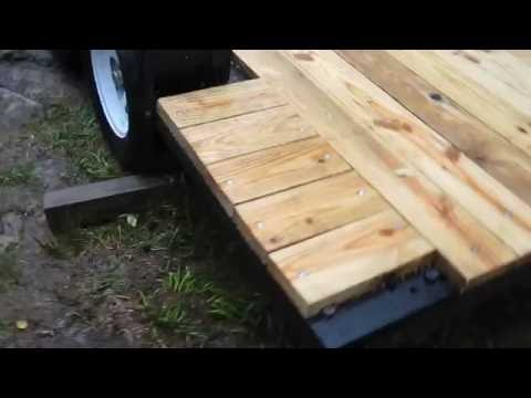 DIY Part 4 tandem axle trailer build with no welds