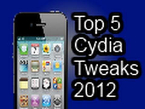 Top 5 Cydia Tweaks 2012 -- November