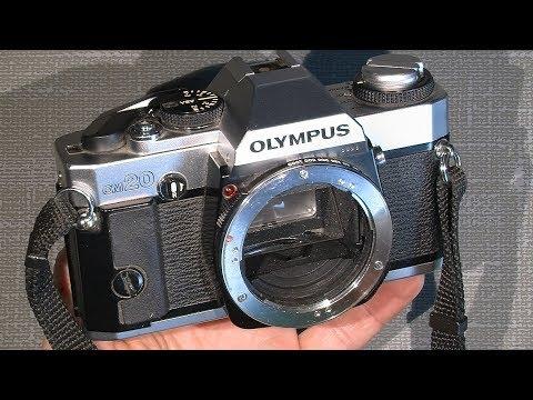 Stuck film advance lever in Olympus OM20