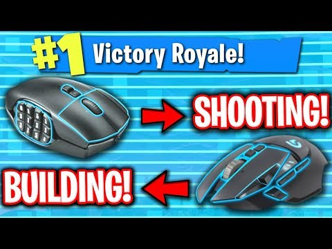 USING TWO MOUSES IN FORTNITE! (NO KEYBOARD)