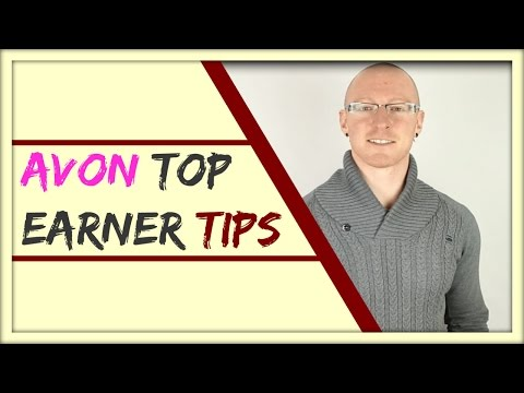How To Become An Avon Rep Top Earner - 🏆 - Selling Avon Products Successfully Online
