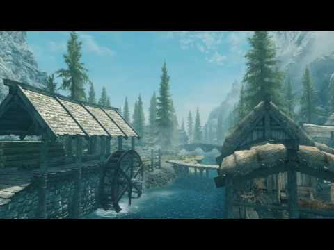 Skyrim Special Edition - With and Without Mods