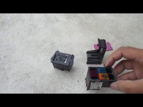 HOW TO REFILL HP 678 CARTRIDGE PROBLEM SOLUTION