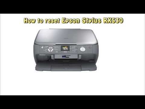 Reset Epson RX530 Waste Ink Pad Counter