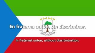 Equatorial Guinea - National Anthem - Caminemos pisando las sendas... (ACAPPELLA VERSION)